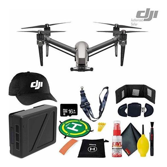 Camara Dji Inspire 2 Quadcopter Drone Tb50 Bateria Landing ®