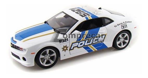 Miniatura Chevrolet Camaro Ss Rs Police 2010 Maisto 1/18