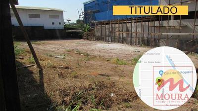 Terreno Residencial À Venda, Santa Rita, Macapá. - Te0102