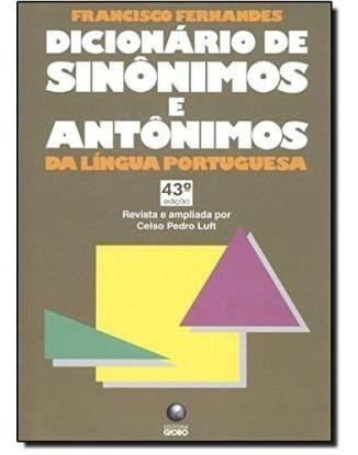 Dicionário De Sinônimos E Antonimos Da L Francisco Fernande