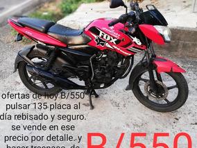 Moto Pulsar 135 Modelo 2011