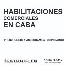 Habilitaciones Comerciales Locales Caba - Ley 257 Fachadas
