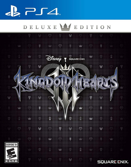 Kingdom Hearts 3 Deluxe Edition - Ps4 - Midia Fisica!