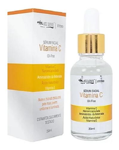 Sérum Vitamina C Para Rosto Oil-free Anti Idade Concentrado