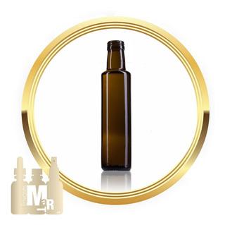 Botella De Vidrio Canela Aceite & Vinagre 250 Ml (24 Piezas)