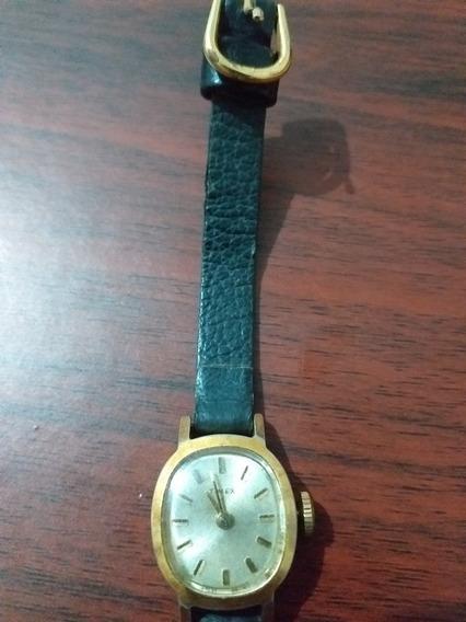 Relógio Timex De Corda Feminino Funcionando Perfeitamente