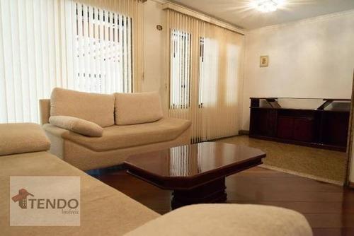 Imagem 1 de 15 de Imob01 - Sobrado 280 M² - Venda - 3 Dormitórios - 1 Suíte - Dos Casa - São Bernardo Do Campo/sp - So0316