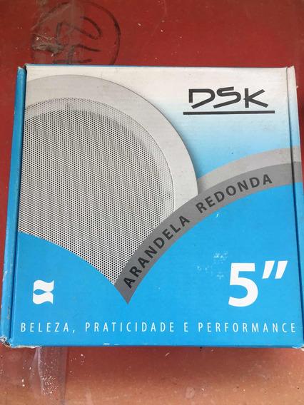 Arandela Coaxial Redonda Dsk - C573 - 5 Polegadas