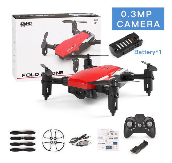 Lf606 Mini Drone Com Câmera 0.3mp Câmera Wifi Vermelho
