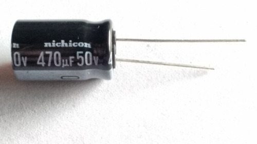 Imagen 1 de 2 de Capacitor Electrólitico 470uf X 50v 105ºx25 Unidades