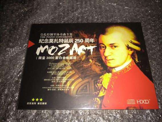 Mozart Concerto Para Piano - Obras Completas 11cd - Novo