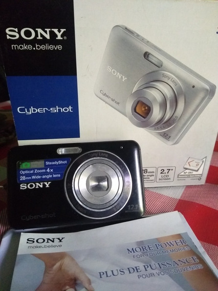 Câmera Digital Sony Sybershot Dsc-w33.12 Megapixels.