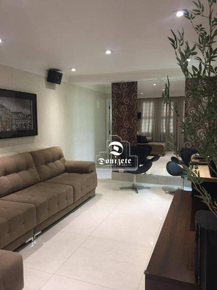 Sobrado Com 3 Dormitórios À Venda, 206 M² Por R$ 750.000 - Santa Maria - Santo André/sp - So0776