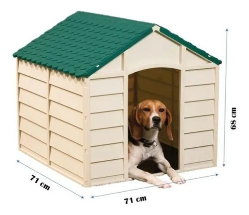 Imagem 1 de 5 de Casa Casinha Pet Small Dog Kennel 71 X 71 X 68cm Desmontável