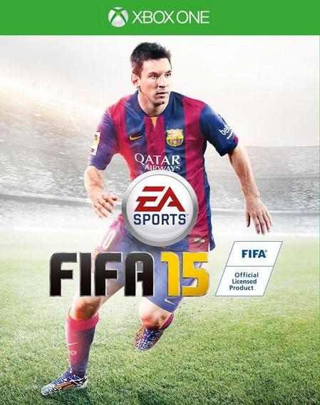 Jogo Fifa 15 Xbox One Xone Mídia Física Game Frete Grátis!