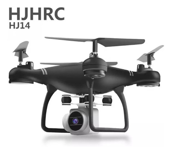 Drone Hj14 Com 3 Baterias Câmera Wifi Fpv Pronta Entrega