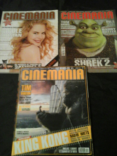 Lote De Revista Cinemania - 3 Ejs