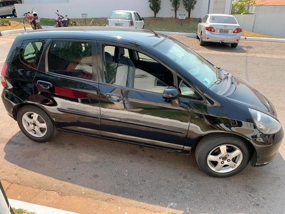 Honda Fit 2006 Automático Em Dia Oportunidade