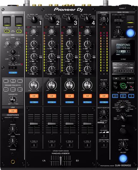 Pioneer Djm 900 Nxs2 Nexus Mixer Djm900 4 Canais Usb / Tc