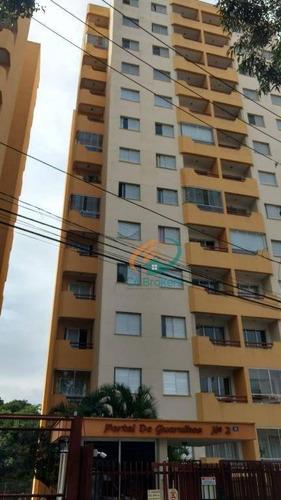 Imagem 1 de 20 de Apartamento Com 3 Dormitórios À Venda, 77 M² Por R$ 320.000,00 - Cidade Brasil - Guarulhos/sp - Ap0110