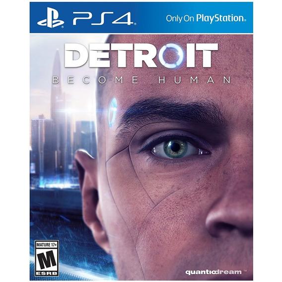 Detroit Become Human - Ps4 Lacrado