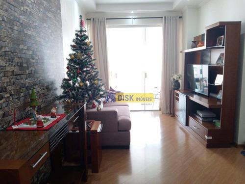 Imagem 1 de 10 de Apartamento Com 3 Dormitórios À Venda, 86 M² Por R$ 565.000,00 - Centro - São Bernardo Do Campo/sp - Ap1991