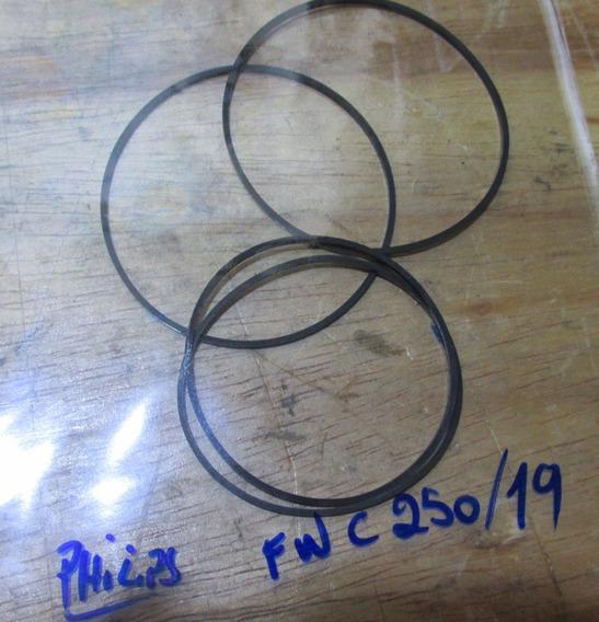 Philips Fwc 250 Kit Correia Tape Deck Frete Grátis