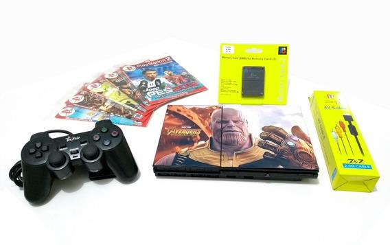 Playstation 2 Slim Semi-novo