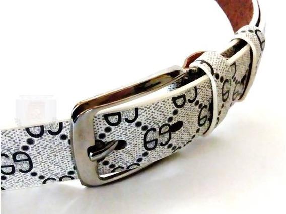 Cinto Cinturon Hombre Estilo Gucci Monogram Importado