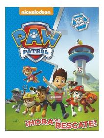 Libros Colorear Paw Patrol #2 16 Pg Recuerdo Fiesta Infantil