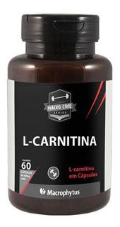 L-carnitina 500 Mg 60 Cápsulas - Macrophytus