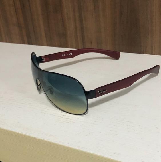 Óculos Ray Ban Diferenciado - Degrade E Haste Emborrachada