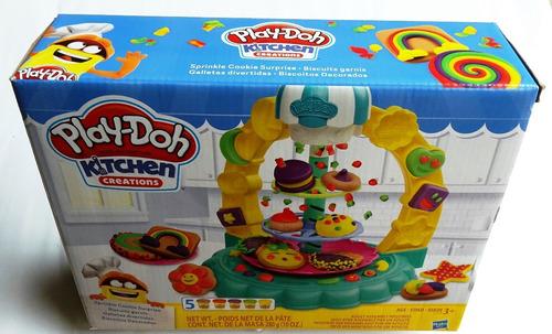 Plastilina Play Doh Set Cocina Galletas Divertidas Original