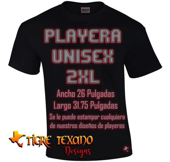 Playera 2xl Xxl Cualquier Modelo De Tigre Texano Designs