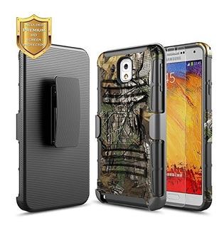 Galaxy Note 3 Funda Con Protector De Pantalla Hd Nagebee Res