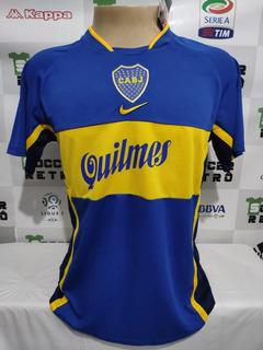 Camisa Boca Juniors 2001 Riquelme 10 À P/ Entrega