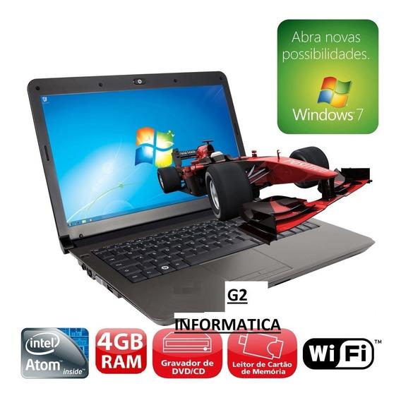 Notebook Cce Hd 160 Gb Intel Atom Mem 4 Gb Promoção Produto Revisado , Garantia Pronto Para Uso , Envio Rápido !!!!!!