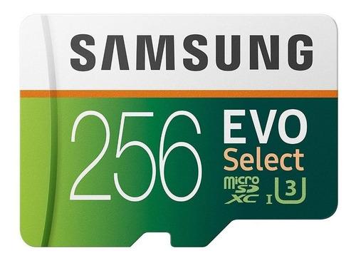 Imagen 1 de 5 de Tarjeta de memoria Samsung MB-ME256HA/AM  Evo Select con adaptador SD 256GB