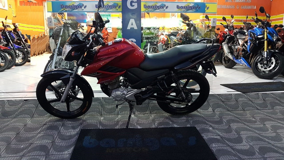 Yamaha Ys 150 Fazer 2014 Vermelha Único Dono