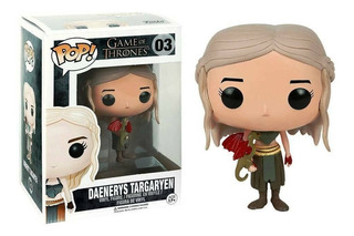 Funko Pop 03 Daenerys Targaryen Game Of Thrones Playking