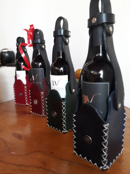 Porta Vino + Vino Malbec Bodega Don Vega Edición Limitada