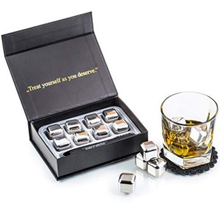 Set De Regalo Exclusivo De Piedras De Whisky Acero Inox