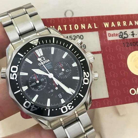 Omega Seamaster Diver James Bond Chrono 41mm Completo