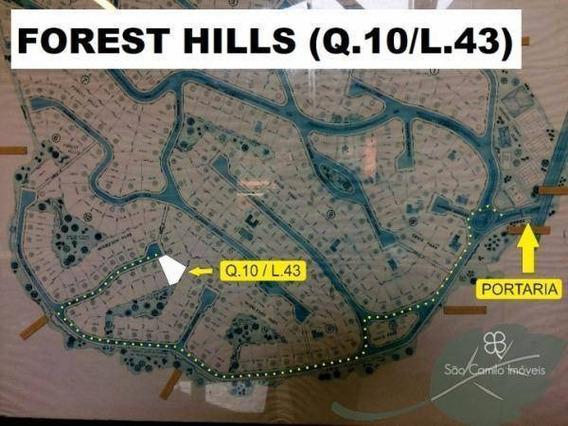 Terreno Residencial À Venda, Granja Viana, Condomínio Forest Hills, Jandira - Te0200. - Te0200