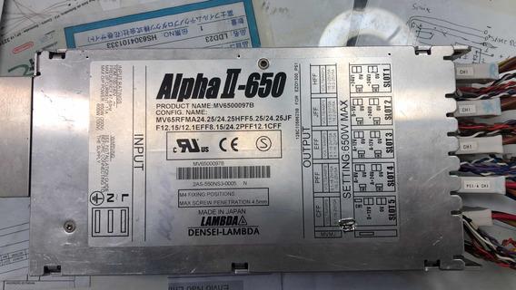 Fonte Alpha 600