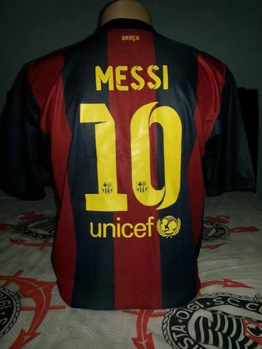 eee6130bf8 Camisa Barcelona Autografada Por Messi, Neymar E Elenco - R$ 550,00 em  Mercado Livre