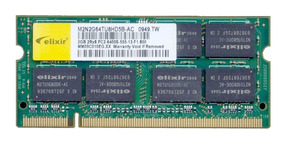 Memoria Ram Notebook Kit 2 Pçs 2gb Ddr2 4gb 800mhz Pc2-6400