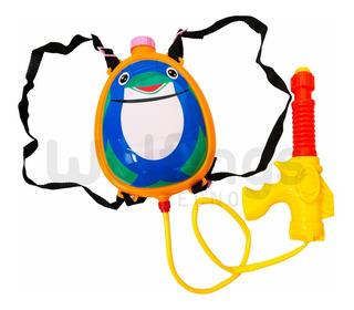 Pistola De Agua Tanque Mochila Diseño Abeja Pinguino Vaquita