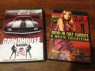 Coleção Grindhouse Drive-in Cult Classics 17 Filmes Raros