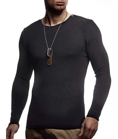Suéteres Para Hombre Slim Fit Para Hombre Sudadera Sudor Pu